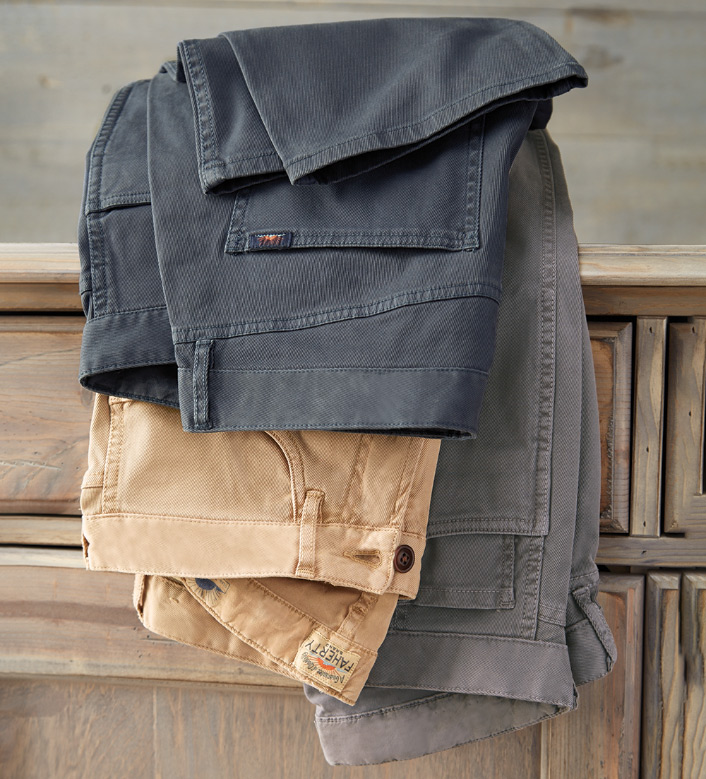Faherty Comfort Twill Jeans
