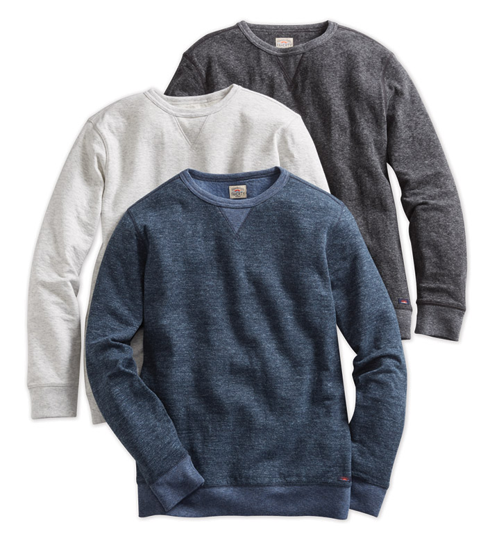 Faherty Dual Knit Pullover