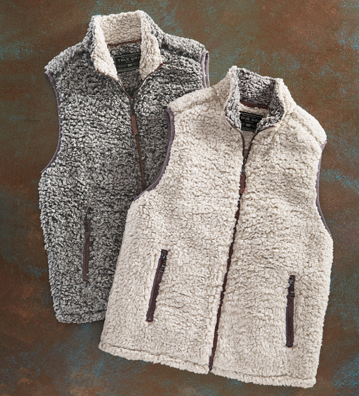 True Grit Frosty Tip Double Up Vest