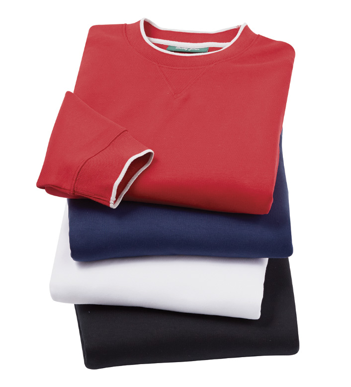 Bobby Jones Walker Long Sleeve Crewneck Shirt