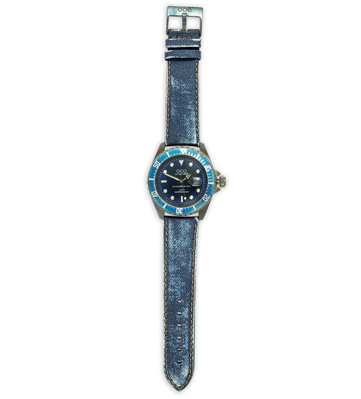 Out of Order Blue Jeans Watch