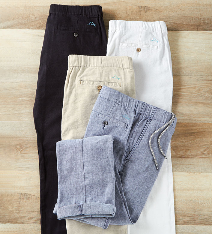 Tommy Bahama Beach Linen Stretch Pants