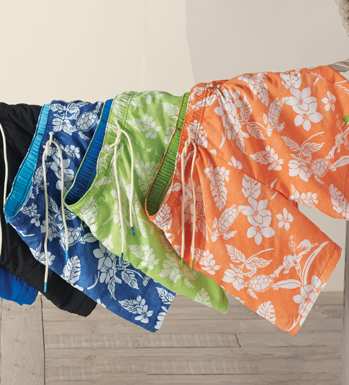 Tommy Bahama Naples Turtle Beach Swim Trunks