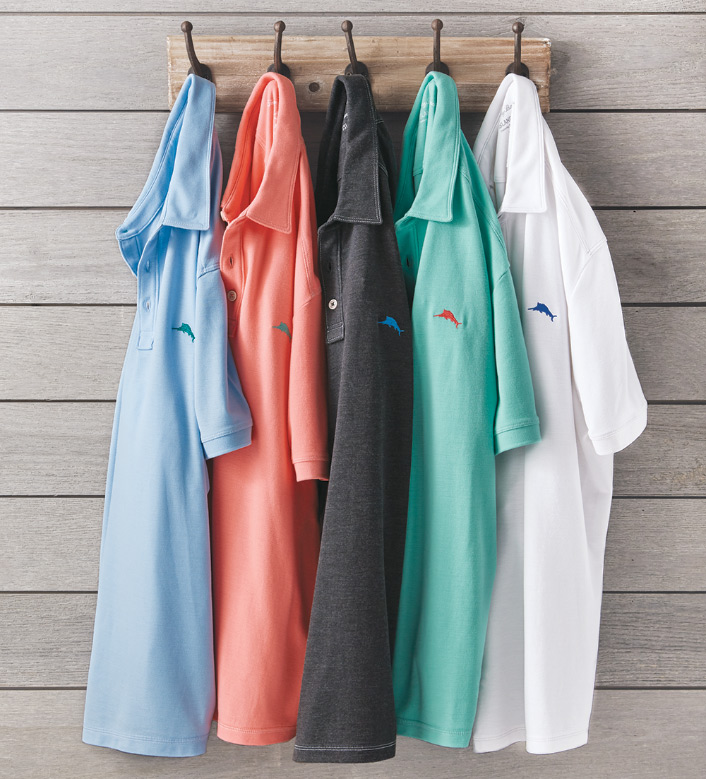 Tommy Bahama Tropicool Short Sleeve Polo