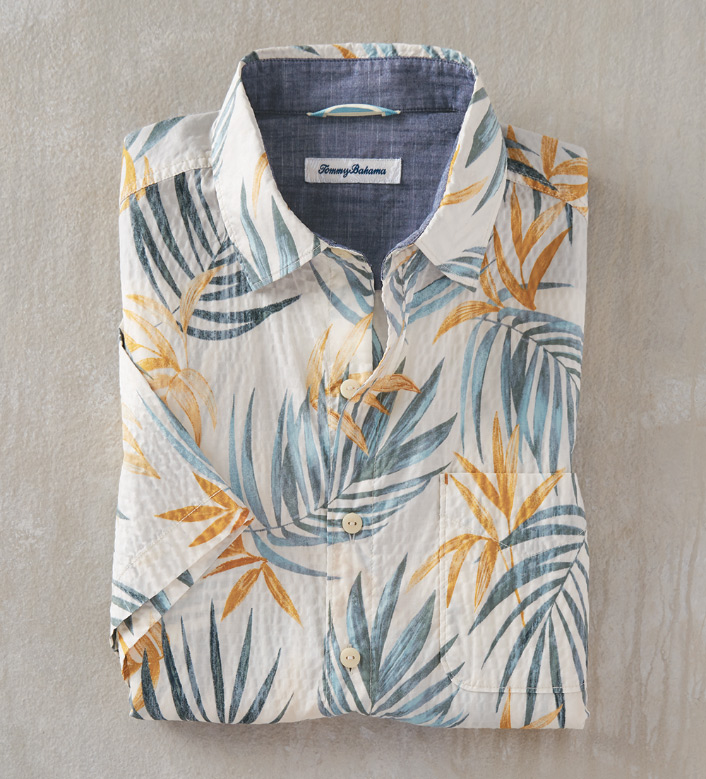 Tommy Bahama Fiesta Fronds Short Sleeve Camp Shirt