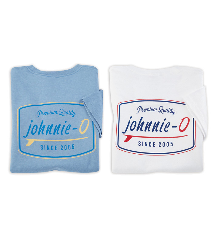 Johnnie-O Deck Graphic Short Sleeve Tee