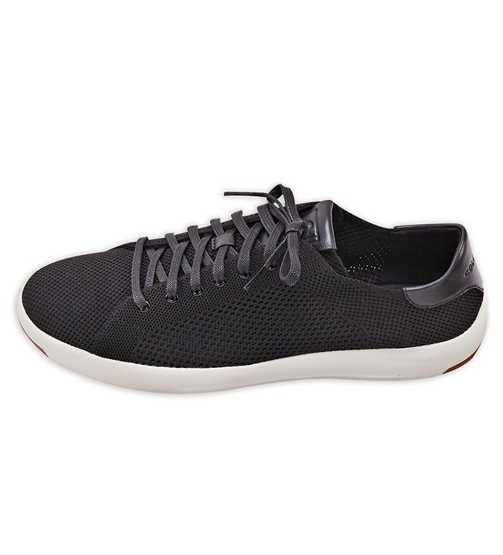 Cole Haan Black GrandPro Tennis Sneakers