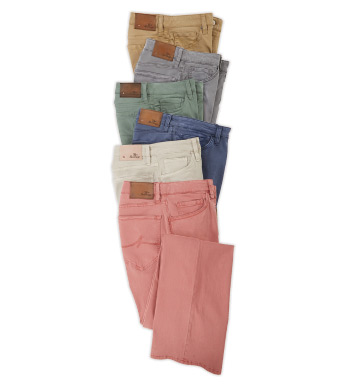 Courage Fit Twill 5-Pocket Jeans