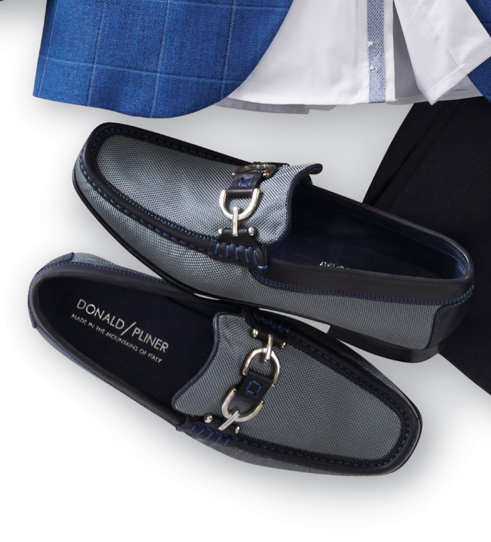 Donald J. Pliner Signature Bit Loafers
