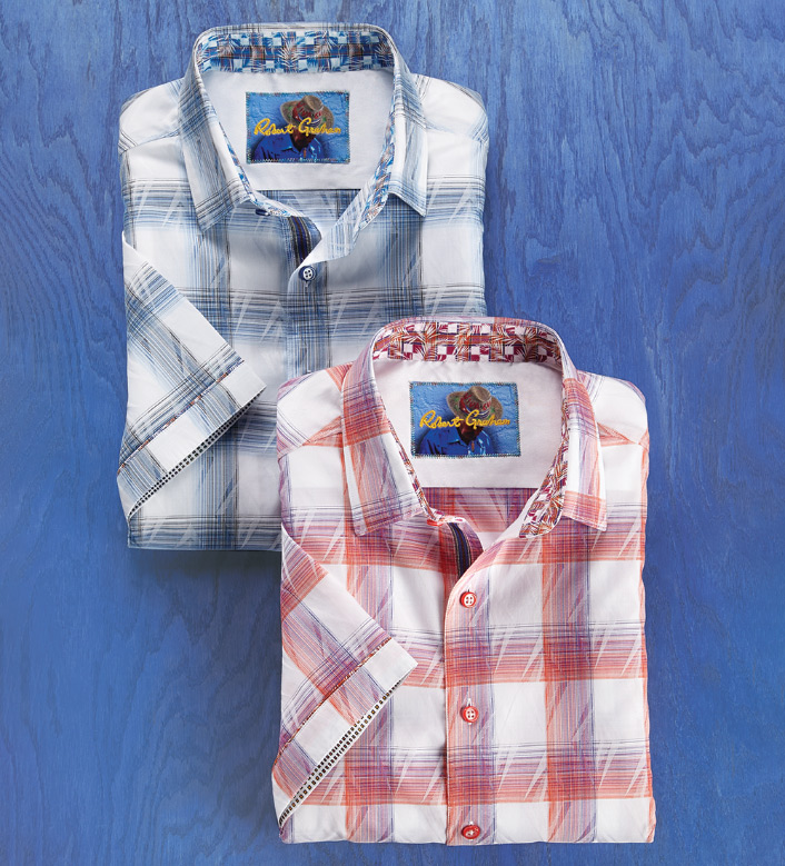 Robert Graham Torres Short Sleeve Sport Shirt
