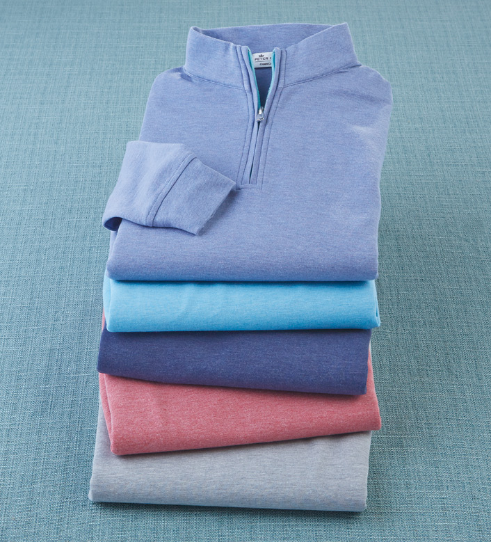 Peter Millar Crown Quarter-Zip Pullover