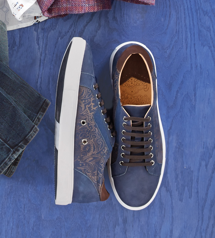 Robert Graham Lima Suede Sneakers