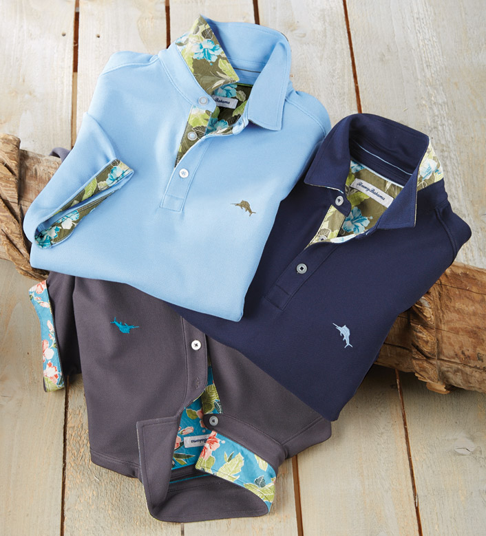 Tommy Bahama Limited Edition 5 O'Clock Polo