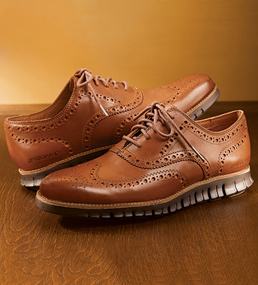 Zerogrand Wingtip Oxford Shoes