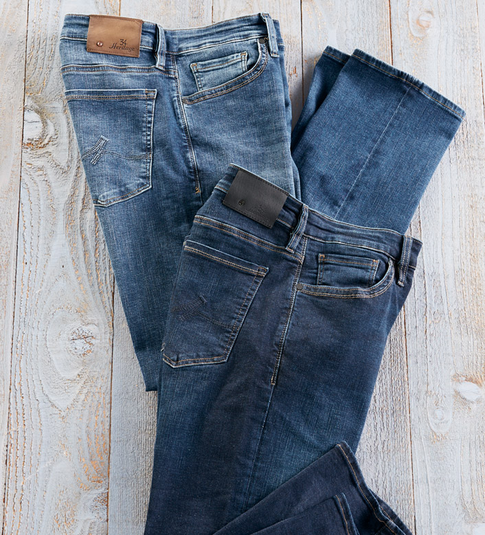 34 Heritage Courage Cashmere Touch Jeans
