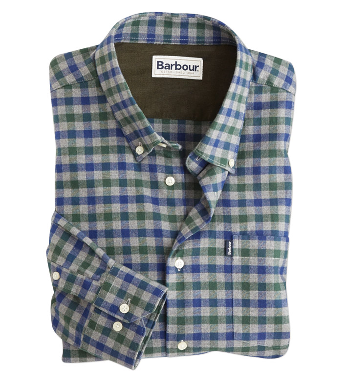 Barbour Stapelton Check Long Sleeve Sport Shirt