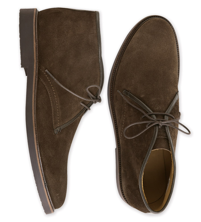 a1f43ee9237 Peter Millar Suede Chukka Boots