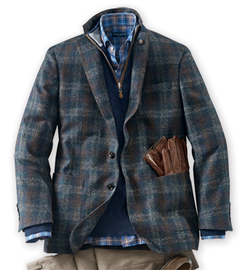 Marylebone Plaid Soft Jacket