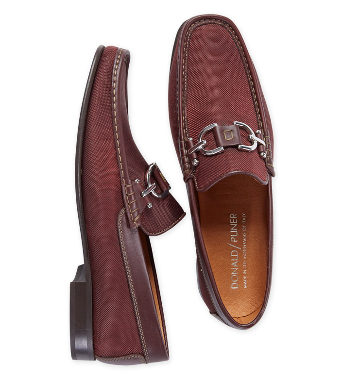 Donald J. Pliner Wine Bit Loafers