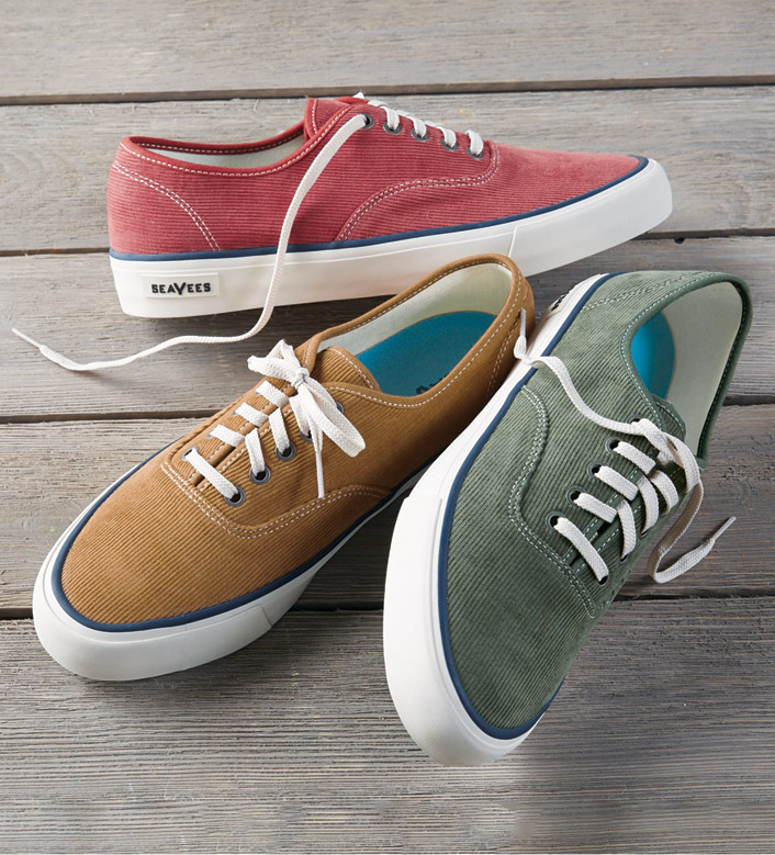Seavees Legend Cord Sneakers