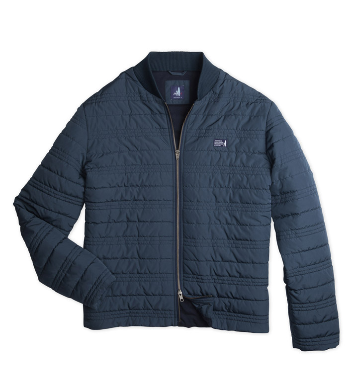 Johnnie-O Benton Quilted Flight Jacket