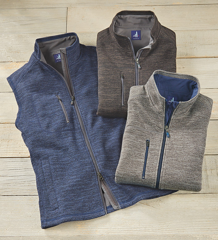 Johnnie-O Tahoe Fleece Vest