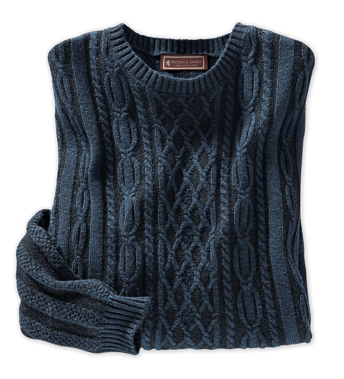 Patrick James Fisherman Knit Sweater