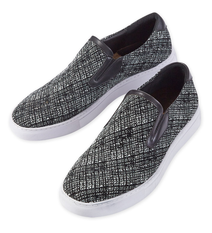 Robert Graham Kitson Tweed Slip-On Sneakers
