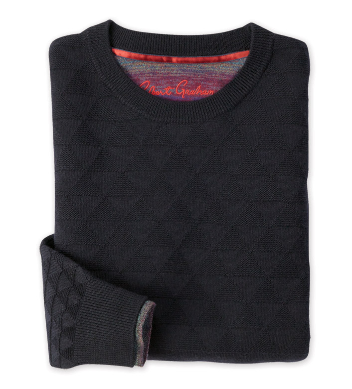 Robert Graham Blackburn Triangle Sweater