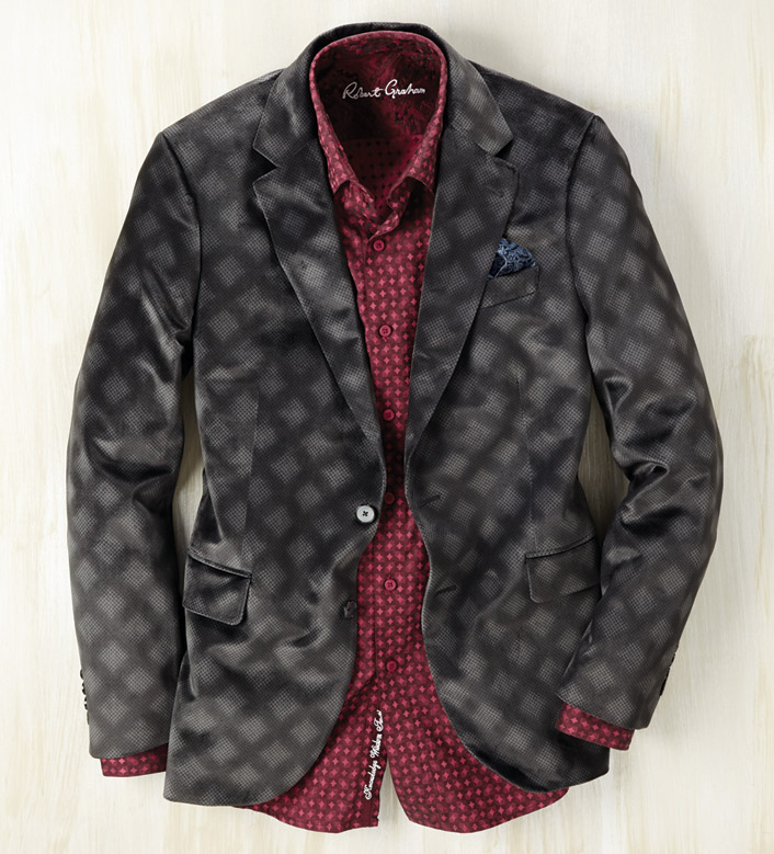 Robert Graham Parkinson Velvet Sport Coat