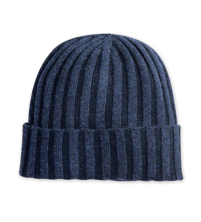 Reserve Ribbed Cashmere Cap