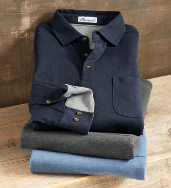 Cashmere Enhanced Polo Shirt
