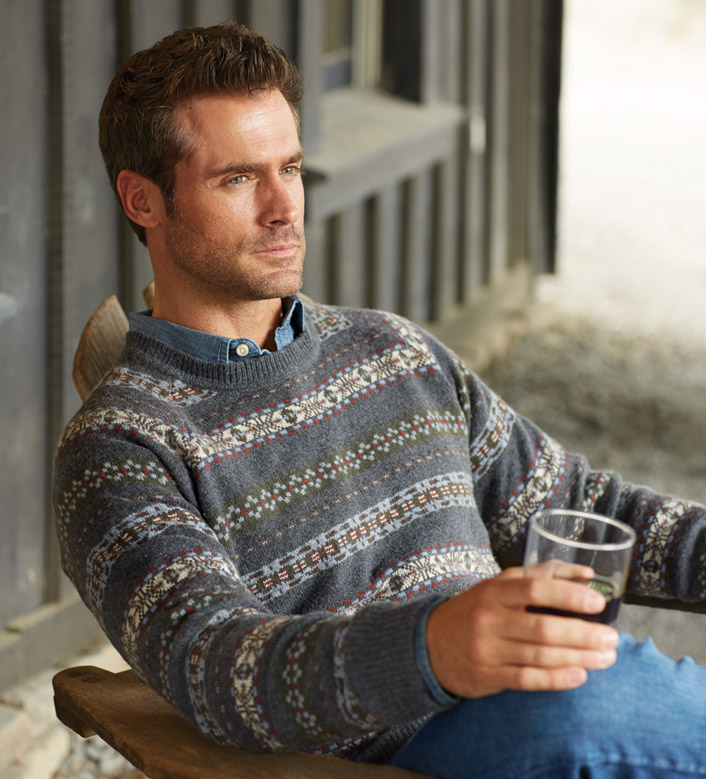 Peter Millar Fair Isle Sweater