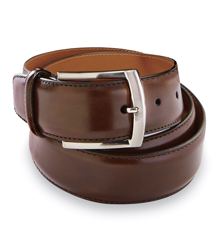 Magnanni Tanning Tabaco Leather Belt