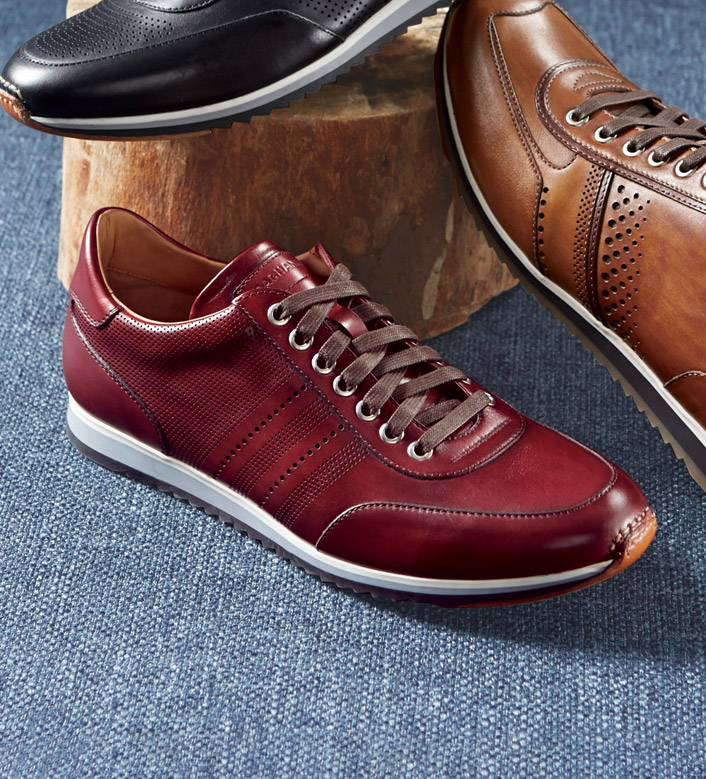 Magnanni Tinto Leather Sneakers