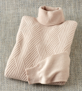Crisscross Cashmere Sweater
