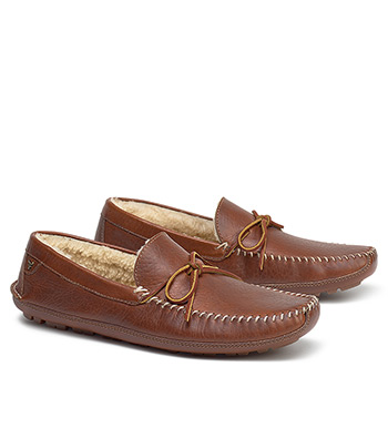 Polson American Bison Slip-On Shoes