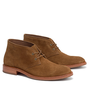 Landers Snuff Suede Chukka Boots