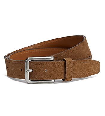 Sutton Snuff Suede Belt