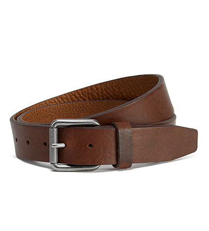Cash American Bison Suede Belt