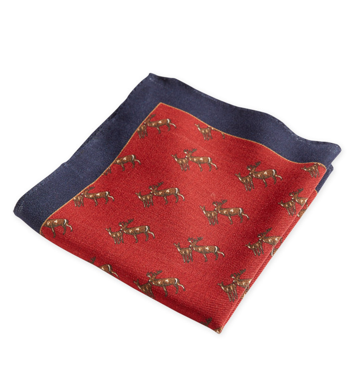 Peter Millar Doe & Buck Pocket Square