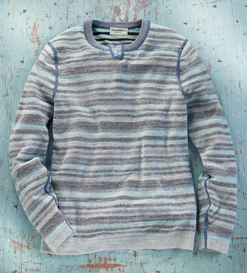 Sandy Bay Abaco Reversible Sweater