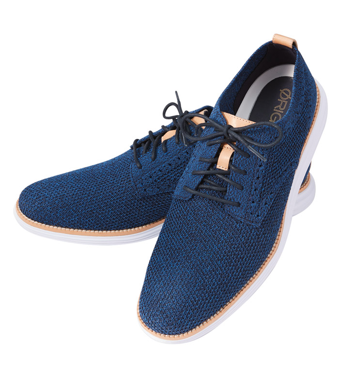 Cole Haan Navy Ink Original Grand Oxford Shoes