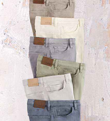 Charisma Fit Soft Touch Twill Jeans