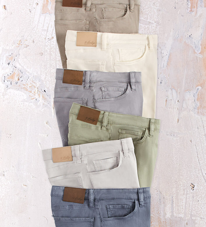 34 Heritage Charisma Fit Soft Touch Twill Jeans