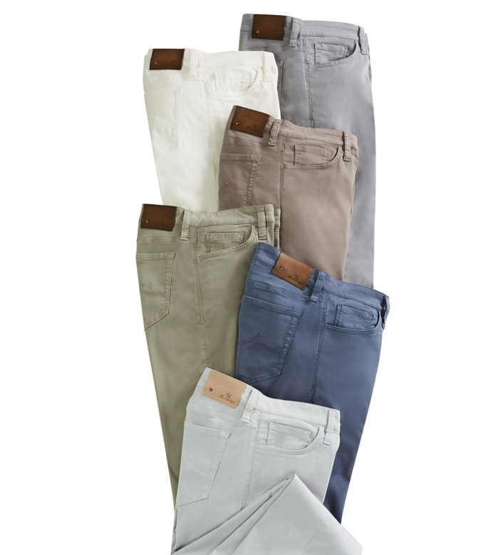 34 Heritage Courage Fit Soft Touch Twill Jeans