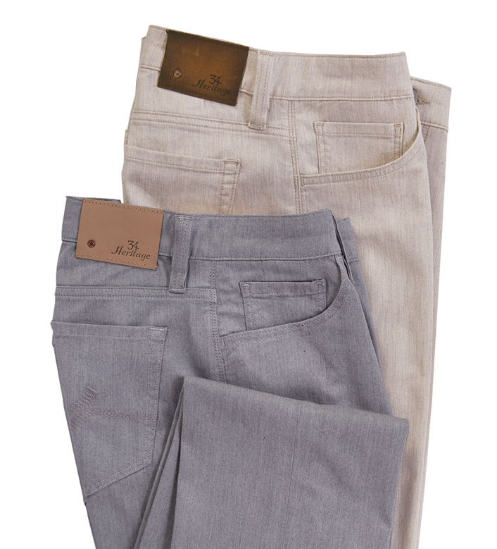 34 Heritage Charisma Heather Cashmere Jeans