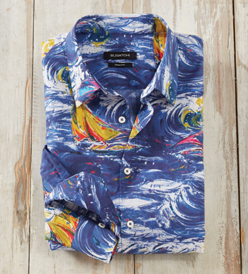 High Seas Sailing Long Sleeve Sport Shirt
