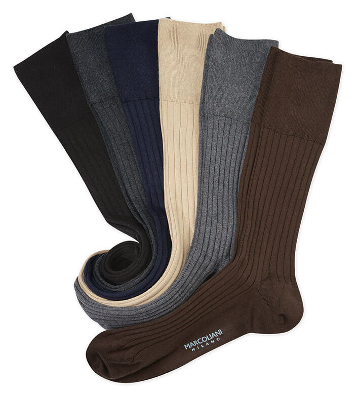 Marcoliani Ribbed Socks