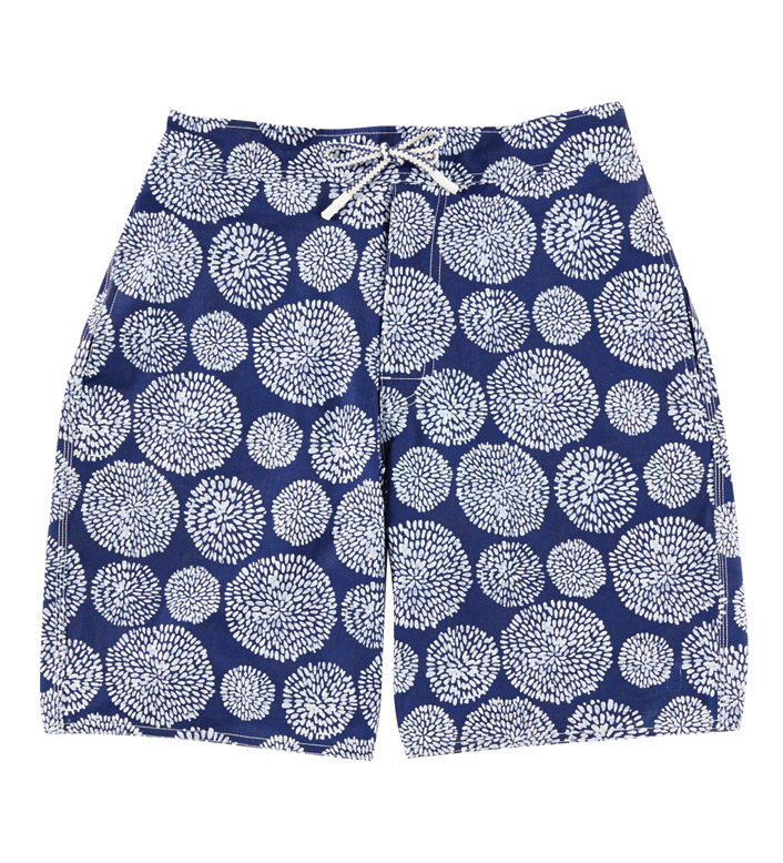 Johnnie-O Seaside Abstract Mums Swim Trunks